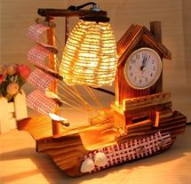 Classic Wooden LED Table Lamp